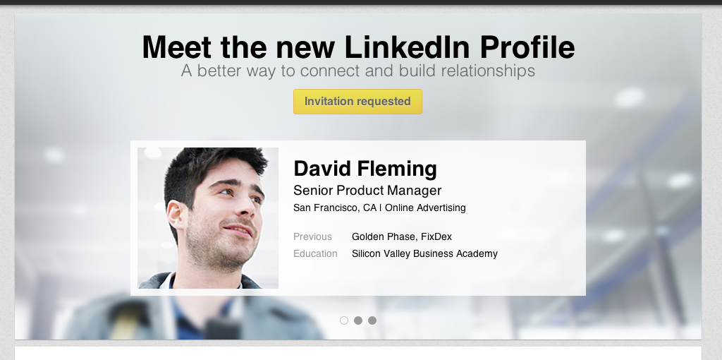 NEW AND EXCITING LINKEDIN FEATURE!