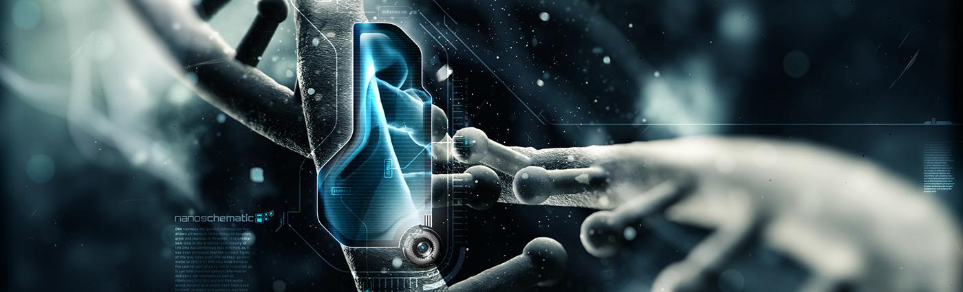 Technology Linkedin background photo 003